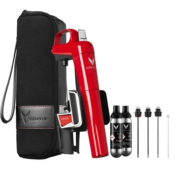 Coravin Model Two Elite Plus Pack Red 1
