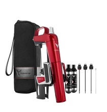 Набор Coravin Model Two Elite Plus Pack Candy Apple Red